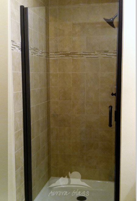 C-Line Semi-Frameless Shower Door